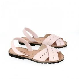 Sandale din piele naturala AVARCA MINORQUINES ROCK Pink