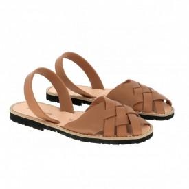 Sandale din piele naturala MINORQUINES Compostelle Natural