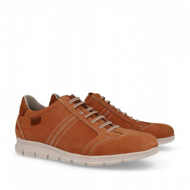 Pantofi din piele naturala LAROCHE Camel