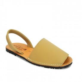 Sandale din piele AVARCA CLASIC Beige