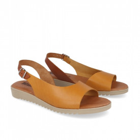 Sandale din piele BLUSANDAL Yellow