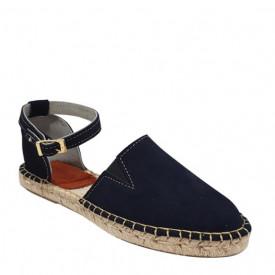 Sandale din piele intoarsa naturala CARLA Marino