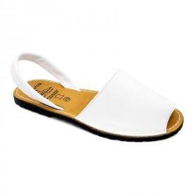 Sandale din piele naturala, AVARCA MEN COLOUR Alb