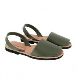 Sandale din piele naturala AVARCA MINORQUINES KHAKI