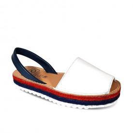 Sandale din piele naturala AVARCA NAVY