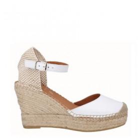 Sandale din piele naturala CARLA White