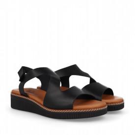 Sandale din piele naturala MAMBO Black