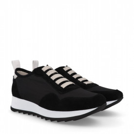 Sneakers din piele naturala MAIRA Black