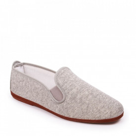 Espadrile JAVER Jersey Grey