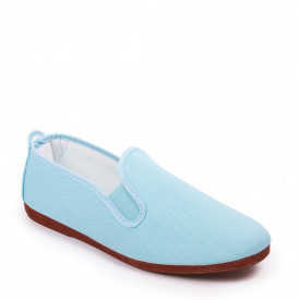 Espadrile JAVER Light Blue