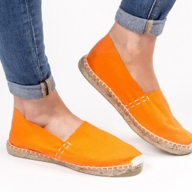 Espadrile uni ORANGE