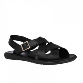 Sandale barbatesti din piele NACHO Black