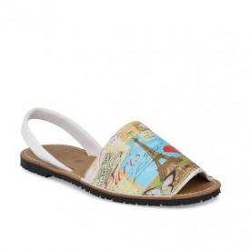Sandale de dama din piele naturala, AVARCA PARIS