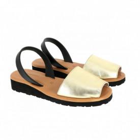 Sandale din piele AVARCA MINORQUINES Gel Metal