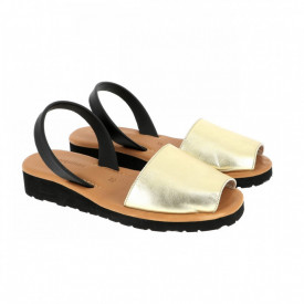 Sandale din piele AVARCA MINORQUINES Metal