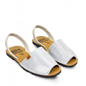 Sandale din piele AVARCA SILK White