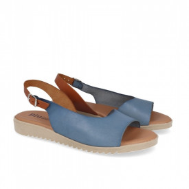 Sandale din piele BLUSANDAL Blue