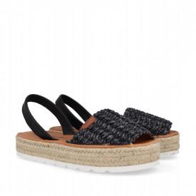 Sandale din piele naturala AVARCA FANY Black
