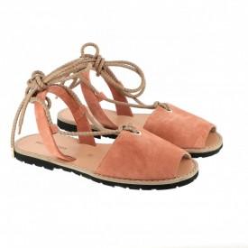 Sandale din piele naturala AVARCA FORMENTERA Coral