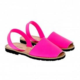 Sandale din piele naturala AVARCA MINORQUINES Fucsia