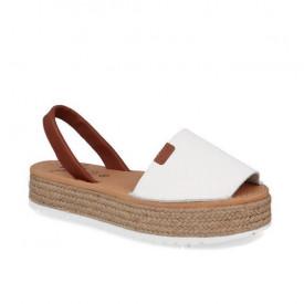 Sandale din piele naturala AVARCA NATURO White