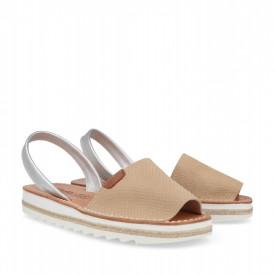 Sandale din piele naturala AVARCA OLGA