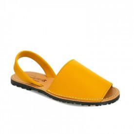 Sandale din piele AVARCA CLASIC Yellow