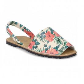 Sandale de dama din piele naturala, AVARCA POPPY