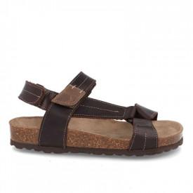 Sandale barbatesti din piele DESERT Brown BIO