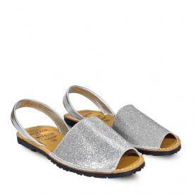 Sandale din piele AVARCA SAND Silver