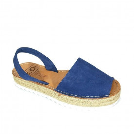Sandale din piele intoarsa, AVARCA ALEGRIA Jeans