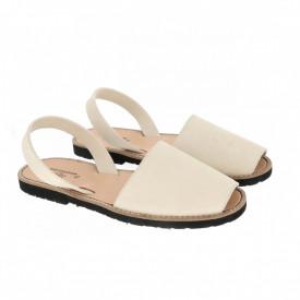 Sandale din piele intoarsa AVARCA MINORQUINES Nude Men