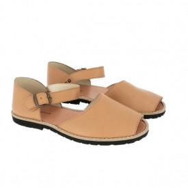 Sandale din piele MINORQUINES FRAILERA Natural