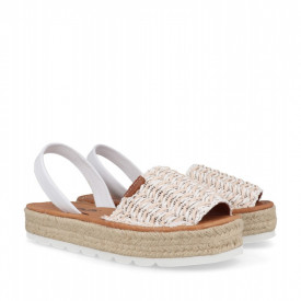 Sandale din piele naturala AVARCA FANY White