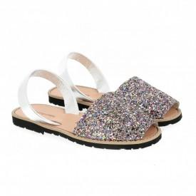 Sandale din piele naturala AVARCA MINORQUINES Glitter Multi