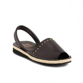 Sandale din piele naturala AVARCA RIM Black