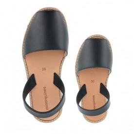Set mama-copil sandale MINORQUINES Clasic Navy
