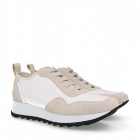 Sneakers din piele naturala MAIRA White