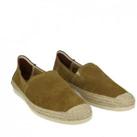 Pantofi din piele naturala PEDRO Khaki