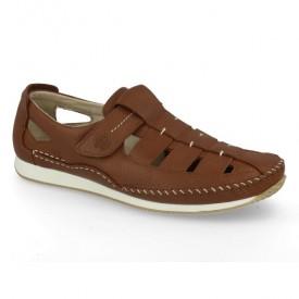 Sandale barbatesti din piele COMODOS Brown