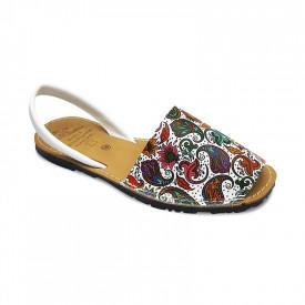 Sandale de dama din piele naturala, AVARCA DAMASC