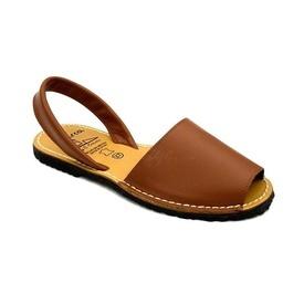 Sandale din piele AVARCA CLASIC Camel