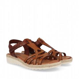 Sandale din piele naturala ATILA Brown