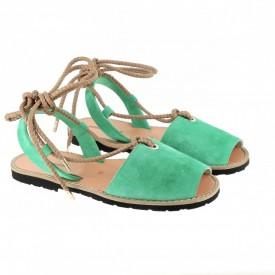 Sandale din piele naturala AVARCA FORMENTERA Smarald