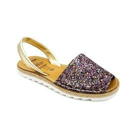 Sandale din piele naturala AVARCA GLITTER YUTE