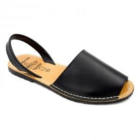 Sandale din piele naturala, AVARCA MEN COLOUR Negru