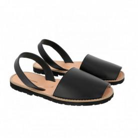 Sandale din piele naturala AVARCA MINORQUINES Black Men