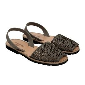 Sandale din piele naturala AVARCA MINORQUINES Laser Grey