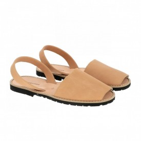 Sandale din piele naturala AVARCA MINORQUINES Natural