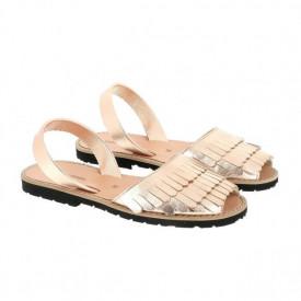 Sandale din piele naturala AVARCA MINORQUINES Sirena Salmon